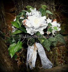 Camo Wedding flower bouquet