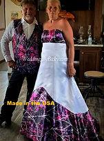 Muddy Girl Camo Wedding dress
