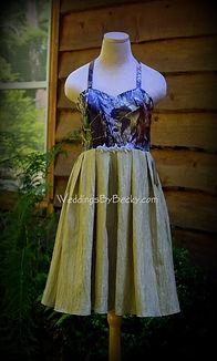 Mossy Oak Breakup bridesmaid dress