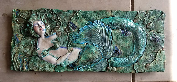 Amille- Large Sculptural Wall Tille