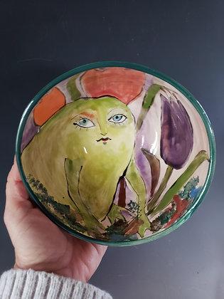 Summer frog bowl