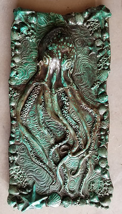 Octopus Wall Sculpture