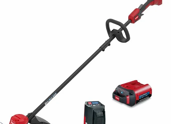 """Toro 60V 13"""" /15"""" Cordless String Trimmer with 2.0Ah Battery and Charger"""