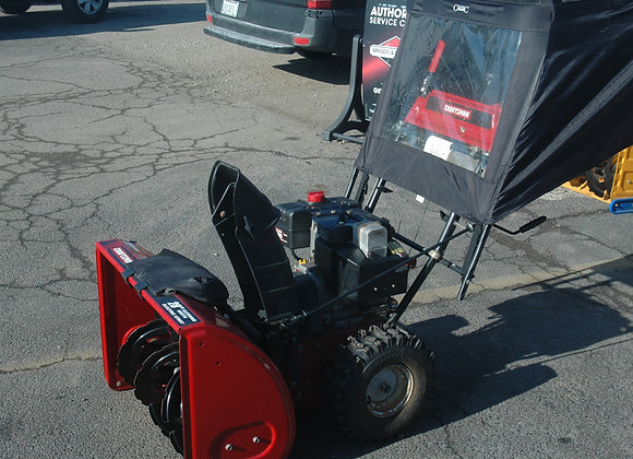 24inch Craftsman two stage snowblower With cover