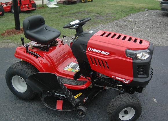 "42"" troy bilt riding lawnmower"