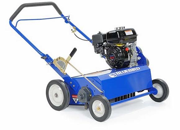 "Bluebird PR22H5FA Power Rake, 22"" Flail Blades, Honda GX160 Engine"
