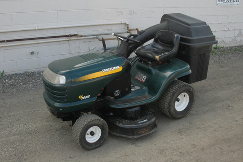 Craftsman Lt1000 Riding Mower >> Craftsman Lt1000 Riding Lawnmower W Bagger