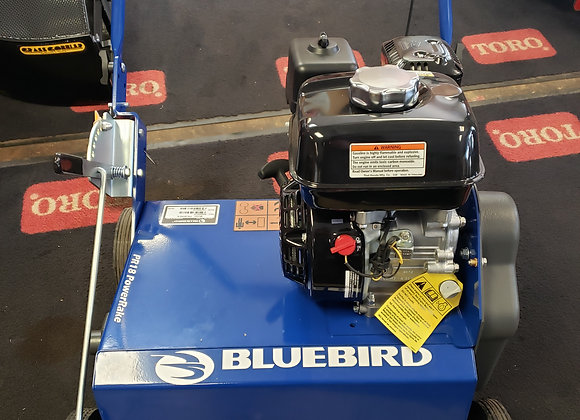 "18""Bluebird Powerrake briggs 900 series"
