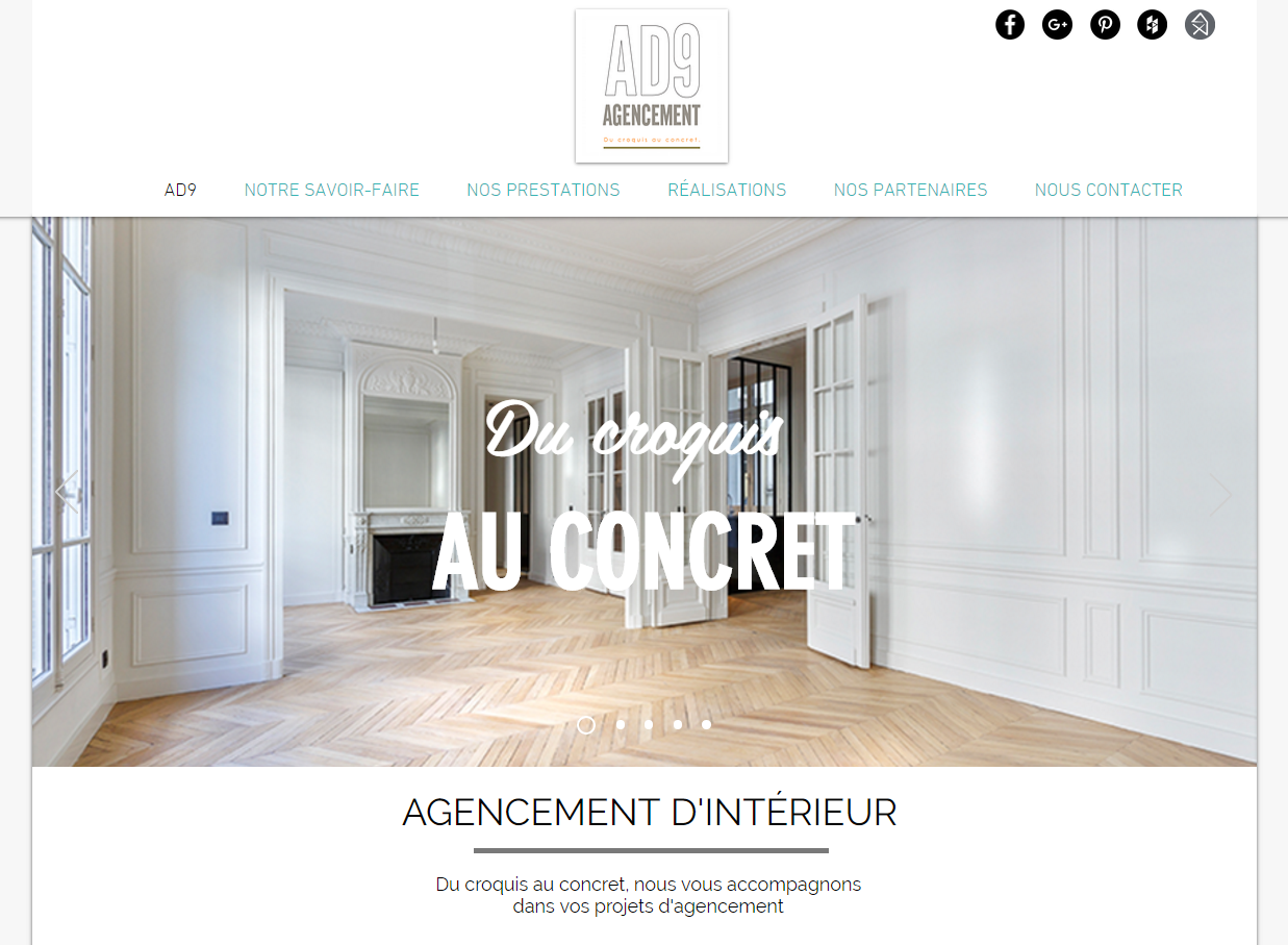 Ad9 agencement architecture d 39 int rieur paris for Architecture d interieur paris