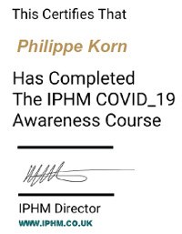 Certification COVID19 IPHM