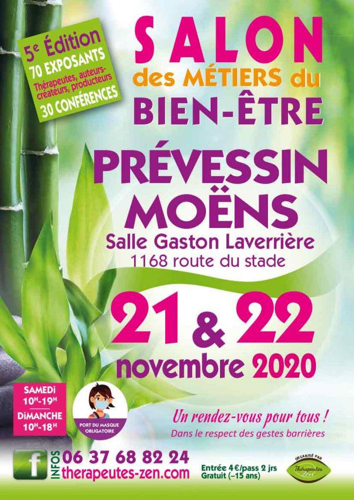 Salon bien-être 21 & 22 novembre à Prévessin-Moëns 01240