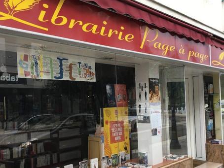 À la librairie Page à Page de Divonne