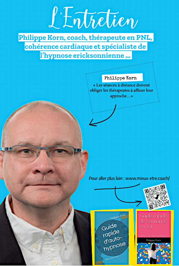 Philippe Korn, hypnose, coaching, énergies, Gex, Genève