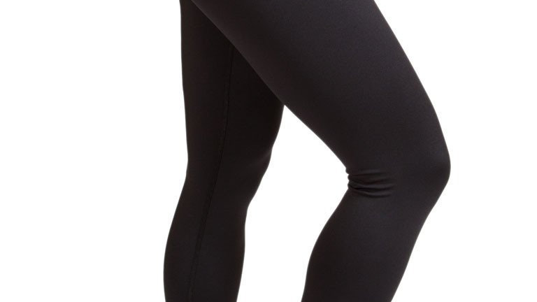 Inner Fire -Solid Black Legging