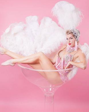 martini glass act, sydney entertainment, martini glass dancer, burlesque dance sydney, sydney entertainment, prana entertainment