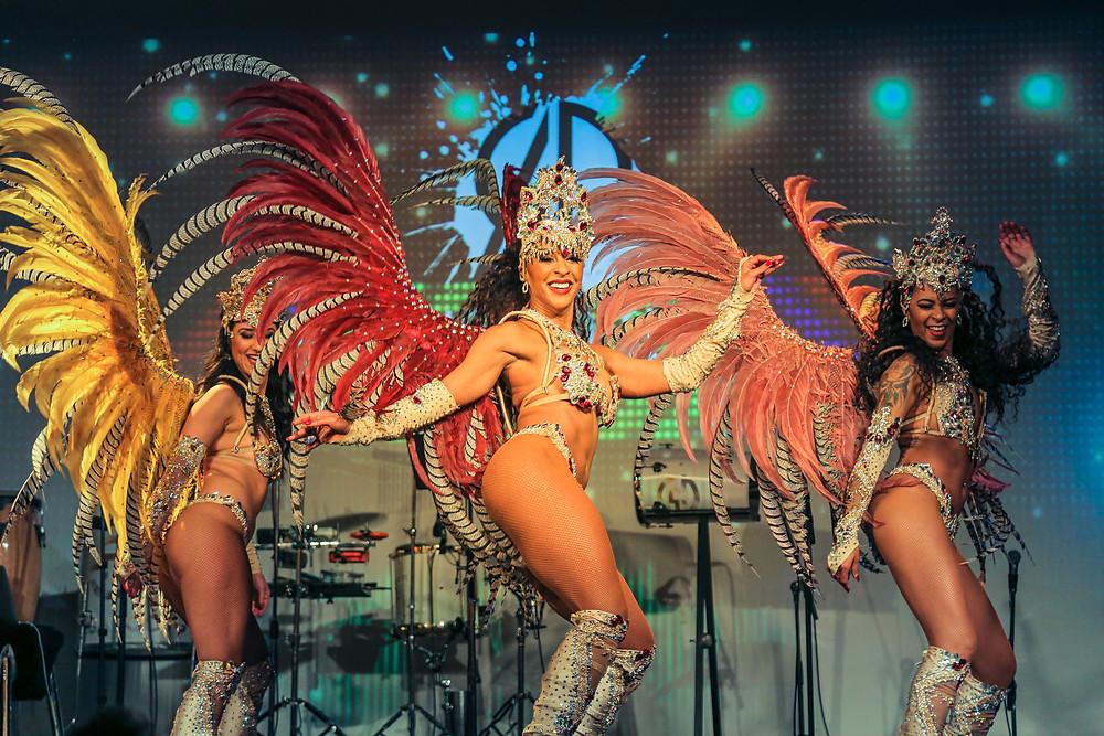 brazilian dancers, samba show, brazilian entertainment sydney, sydney entertainment