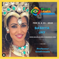 Instructor for Brasil Samba Congress 2019