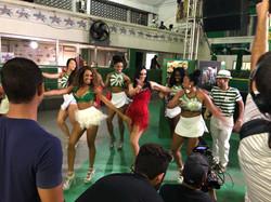 Filming for Dancing Brasil