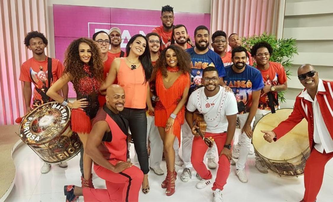 Live on Bandeirantes TV