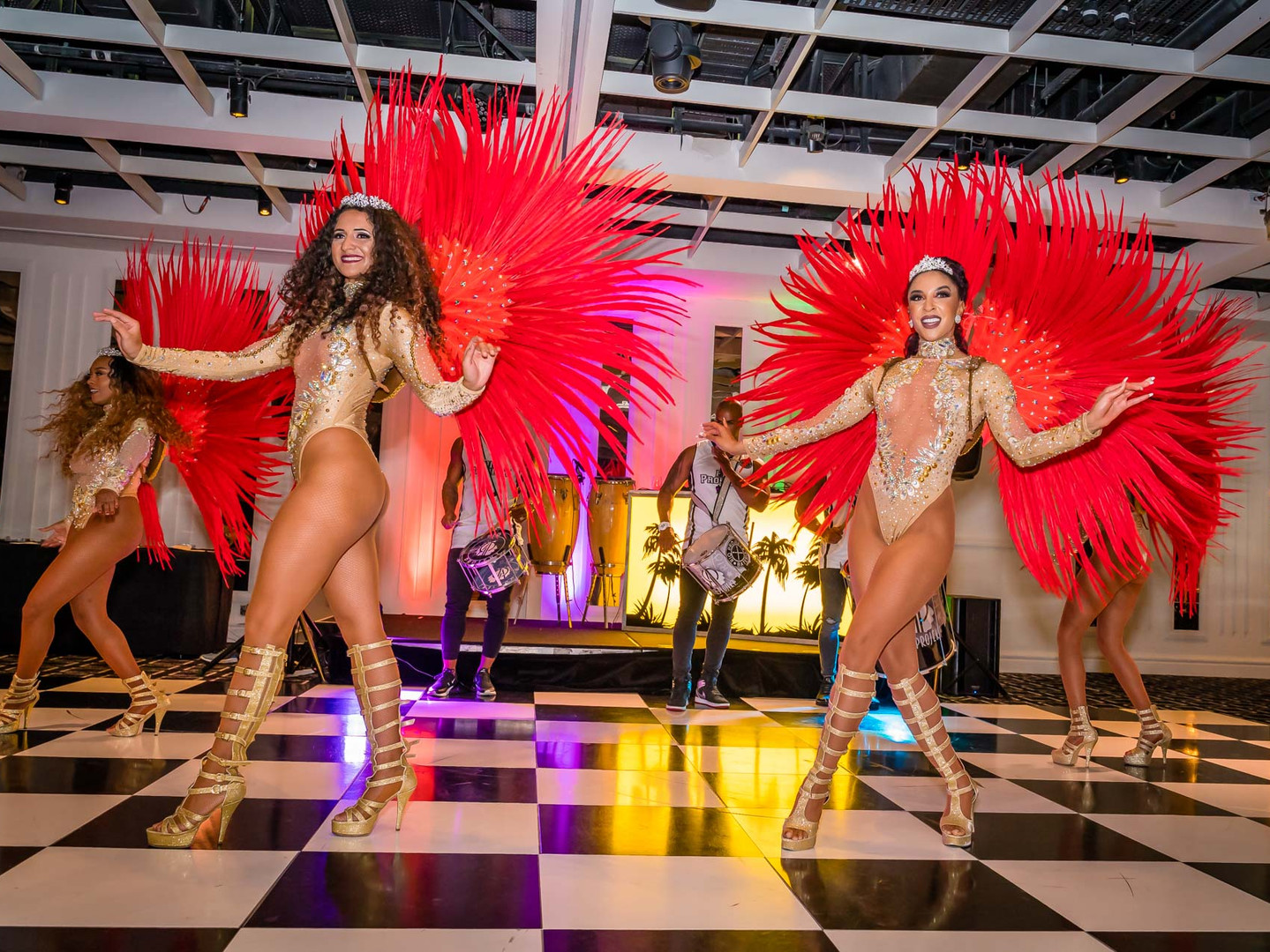 corporate entertainment - brazilian dancers