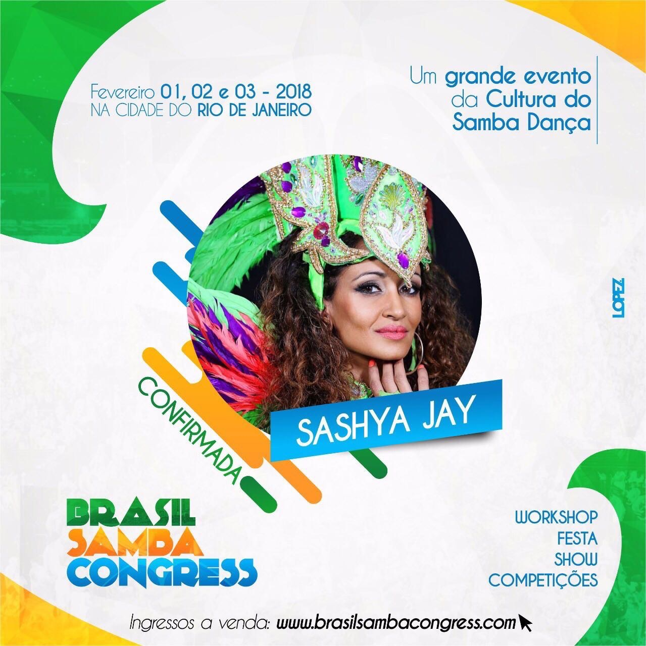 Instructor for Brasil Samba Congress 2018