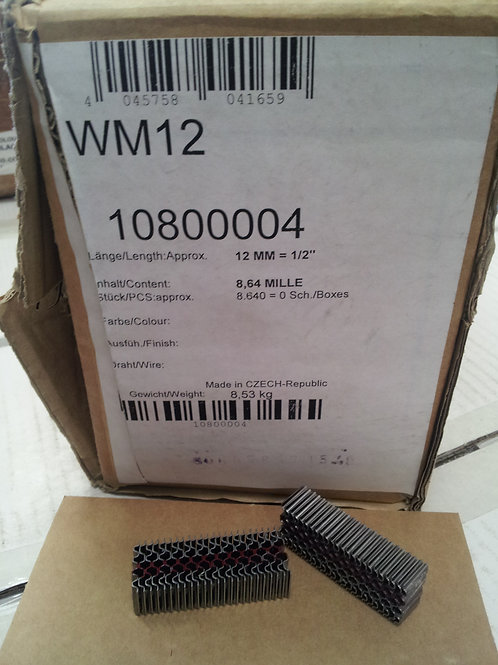 WM12 Mini Corrugated Fasteners