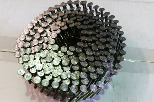 2.5 - 3.1 Gauge 15 Degree Bright Ring Coil Nails