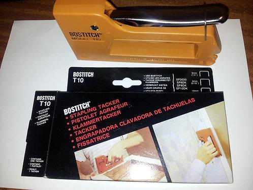 Bostitch T10 hand tacker/stapler