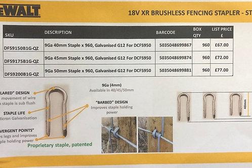 Dewalt DCFS950 Fencing Staples