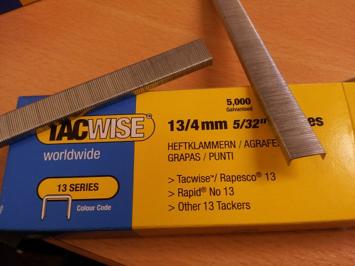 Tacwise 13 Series Galvanised Staples