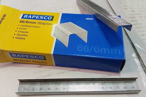 66 Series 6mm Staples