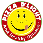 Pizza D'Light and Healthy Options Logo
