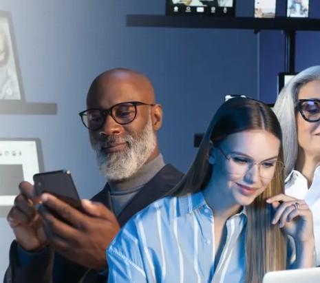 蔡司鏡片 抗藍光 |濾藍光眼鏡片推薦 |蔡司鑽金藍光防護鏡片 |視康佳眼鏡。