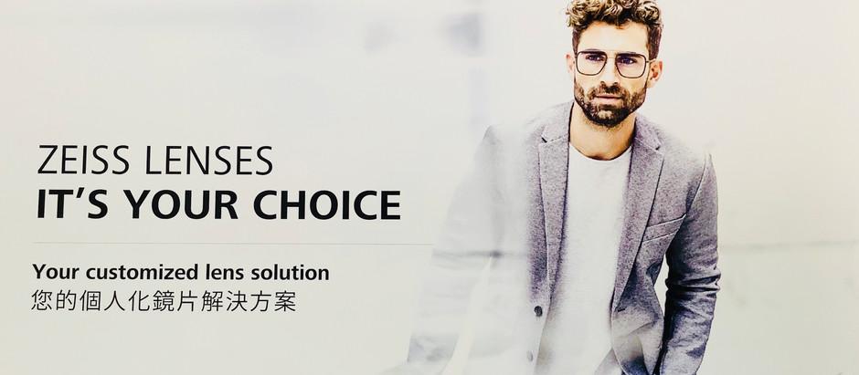 視康佳眼鏡 個人化鏡片解決方案 。 蔡司優視力體驗 ,專為您個人訂製的鏡片