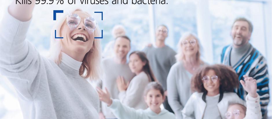 蔡司AntiVirus Platinum UV鉑金鍍膜銀離子鏡片。視康佳。蔡司鏡片。經銷商。銀離子。