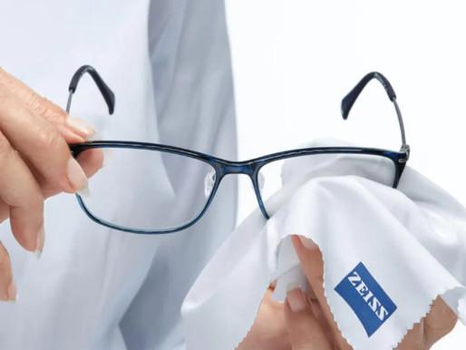 如何正確清潔及保養你的眼鏡?