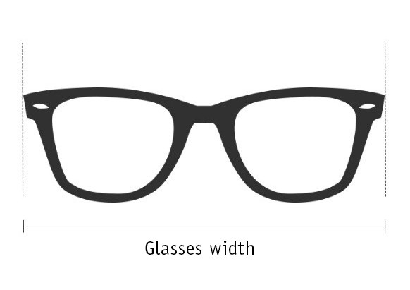 選擇合適眼鏡框尺寸的技巧