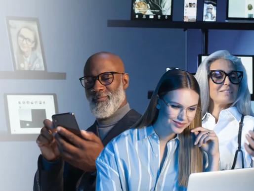 新藍光眼鏡片【蔡司鑽金藍光防護鏡片 BlueGuard】。視康佳眼鏡。