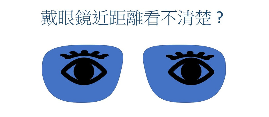 戴眼鏡近距離看不清楚 ? |視康佳眼鏡。彰化。員林
