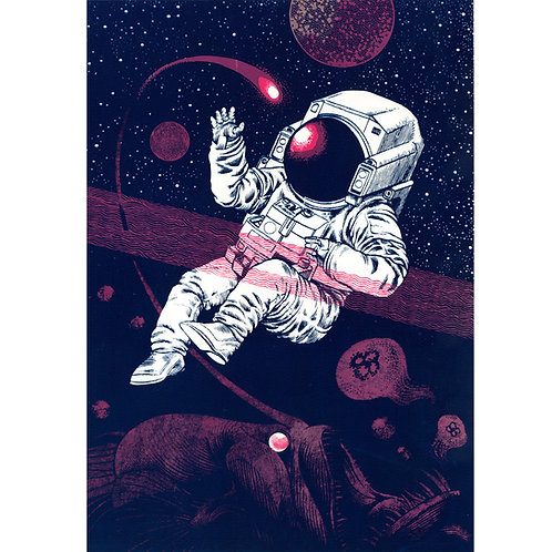Space Fish - Purple