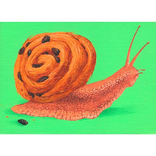 Snail: Raisin Danish