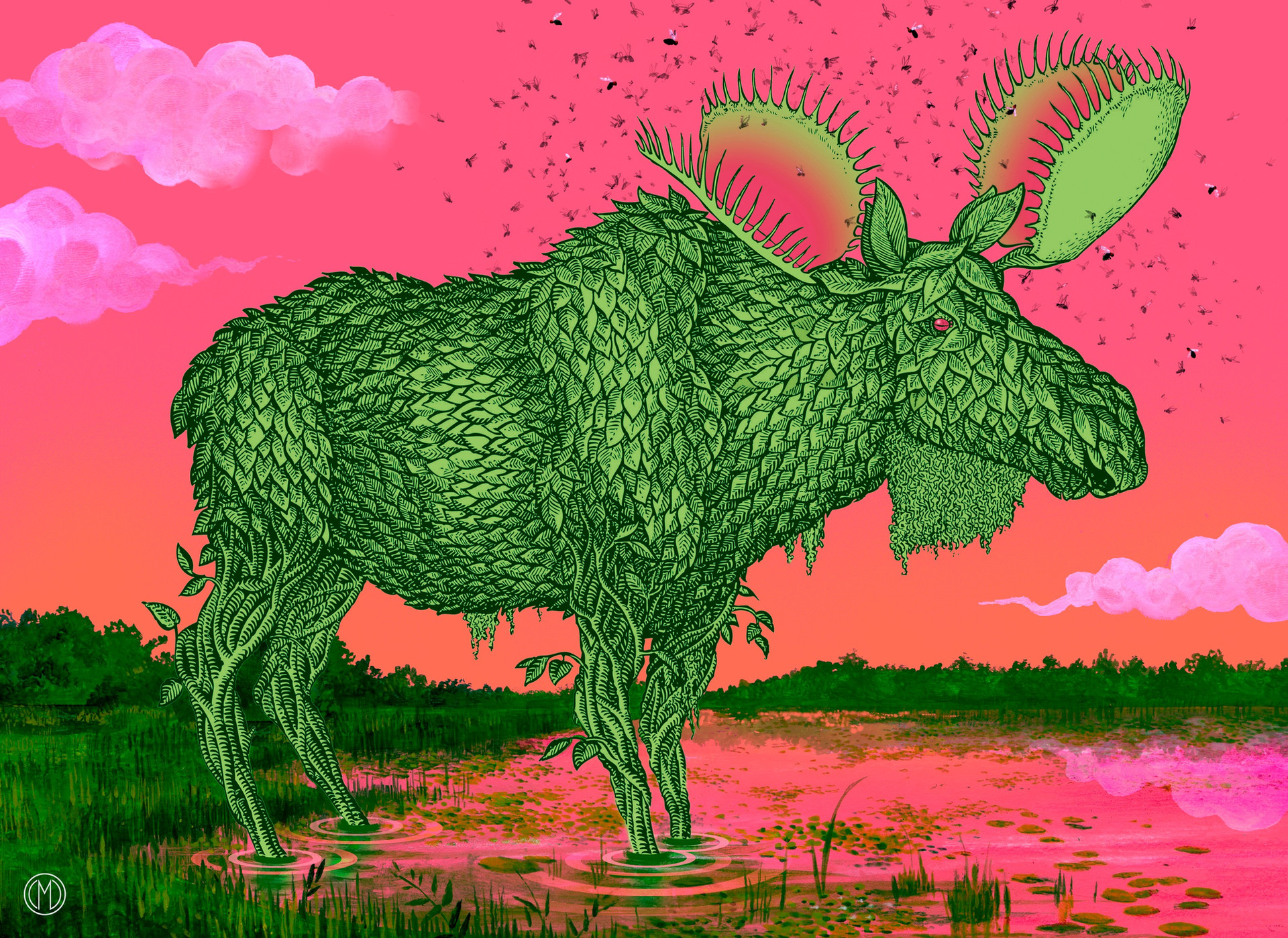 Botanical Moose