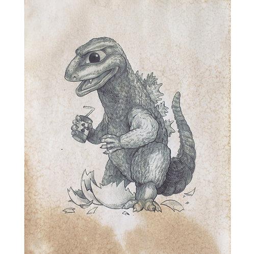 Baby Godzilla - Monstrous Child