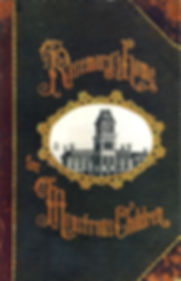 Victorian book cover design