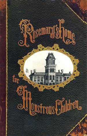 Victorian book cover design