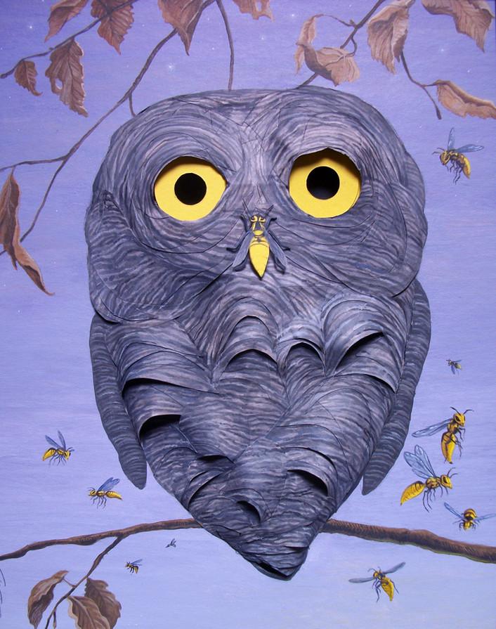 Nesting Owl