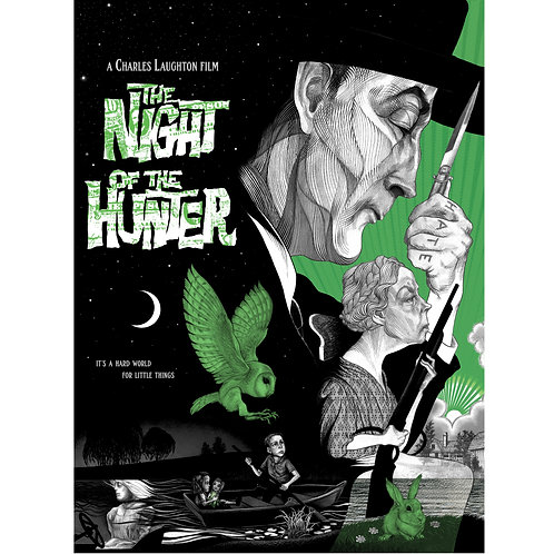 Night of the Hunter poster print