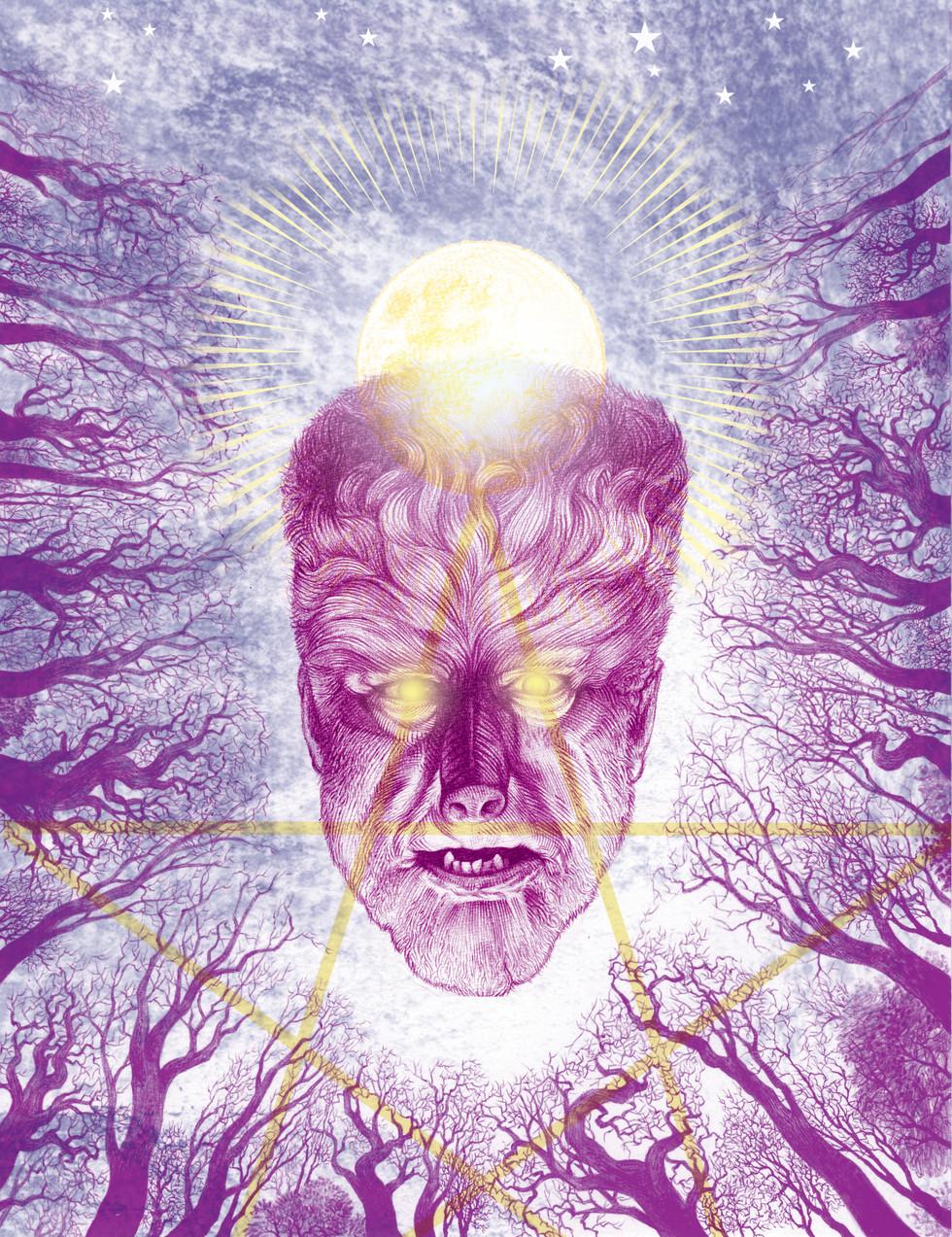 Wolfman Pentagram