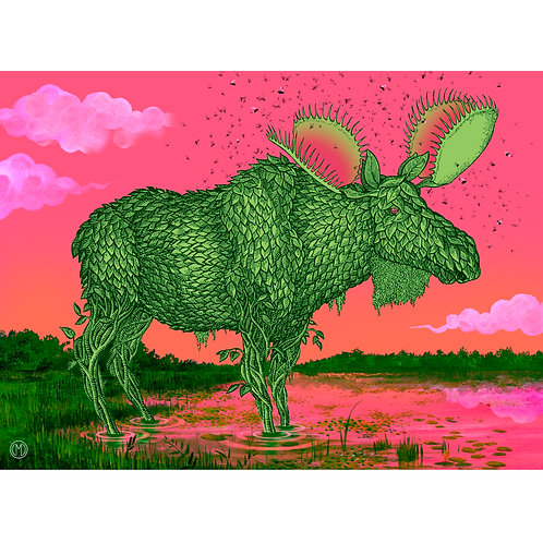 Botanical Moose