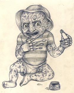 baby Freddy Krueger